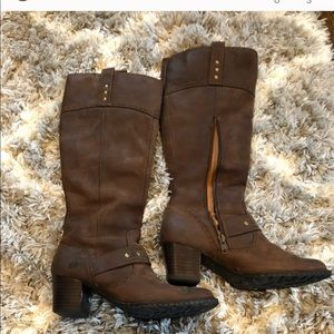 Brown Born Boots